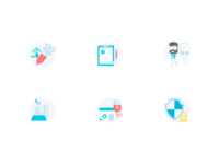 Medical Icon set 3