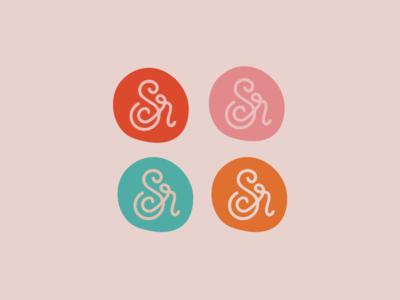 SCR Monogram typography branding monogram monogram design