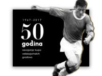 Dinamo 50th anniversary custom website