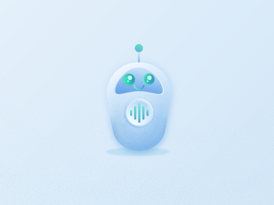Home bot 📟📟📟 game animation game app gamer noise flat character cute ai bot helper robot ui uiux game design design illustration game