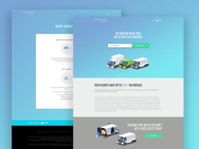 Van Insurance Web Design