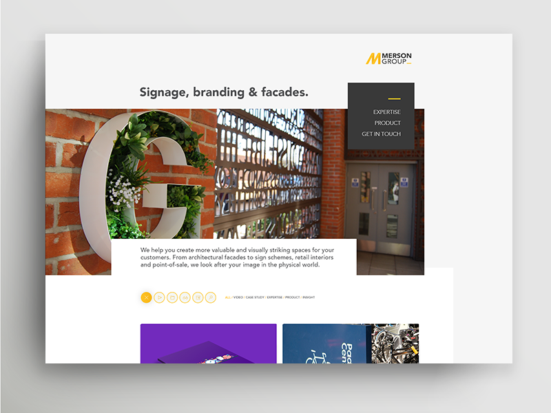 User Interface Design for Blog the special something modern minimal blog user interface ui