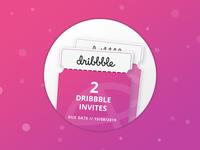 Dribbble Invites (2x) ✌🏻