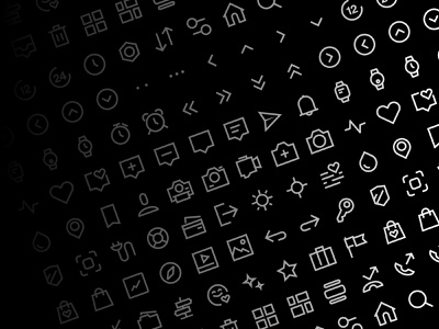 CuteIcons - Iconset icon pack icon set webdesign ios ux ui app design icons