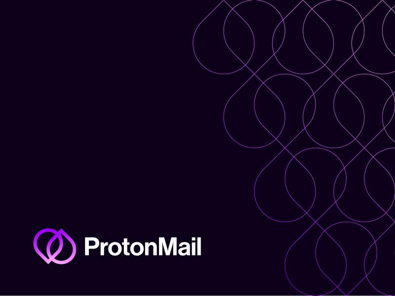 ProtonMail Brand Redesign encrypt protonmail logo brand design