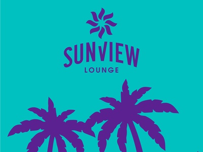 Sunview Branding Design typography branding brand redesign logo design