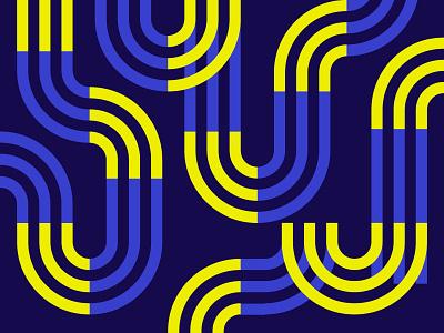 Pattern Design blue vector illustration design pattern
