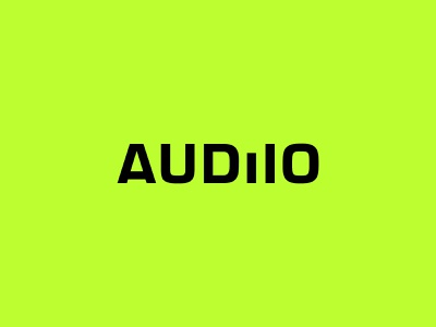 AUDIIO Branding color logo branding music sfx fx sound audio