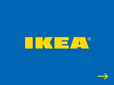 IKEA® - Logo Redesign ikea typography branding brand logo design