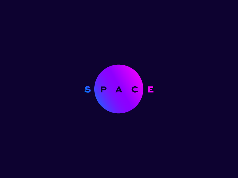 Space #ThirtyLogos brand gradient cosmos space thirtylogos logo