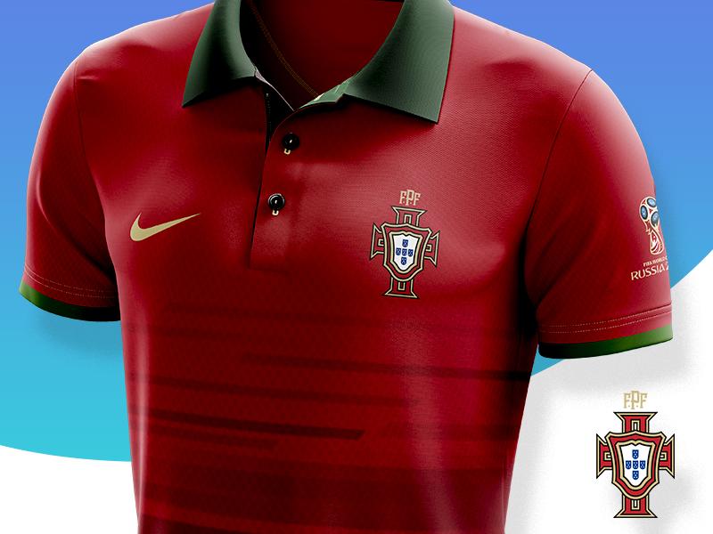 Portuguese Federation of Football - Logo Redesign 2018 fifa sports soccer jersy shirt futebol football federation lisbon portugal