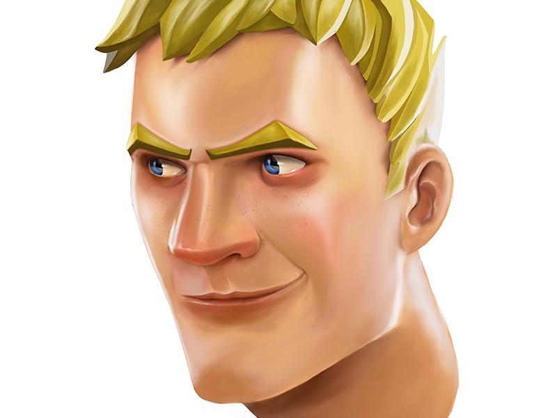 Fortnite Character By Mark Fortez Dribbble Dribbble