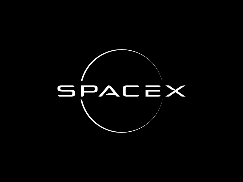 My Spacex Logo Version :) by Mark Fortez on Dribbble