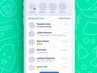 Whatsapp App Redesign