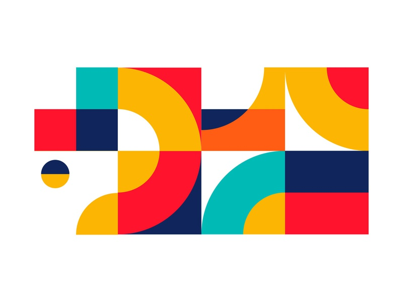 Pattern Design Vol1 abstract shape color design pattern
