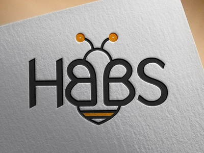 HBBS animation typography minimal vector logo illustrator illustration graphic design flat design branding