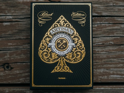 Black & Gold Artisans artisans playing cards simon frouws south africa theory11