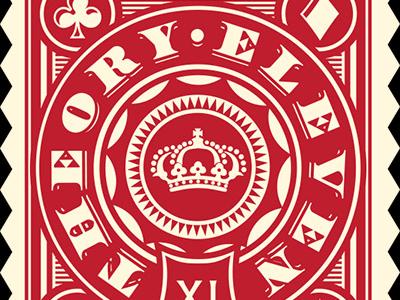 T11 rebels sticker red