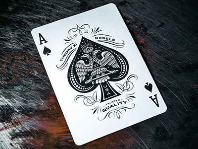 Rebel Playing Cards Ace Of Spades By Theory11 Dribbble Dribbble