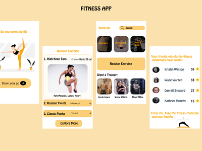Fitness App workout app fitness app