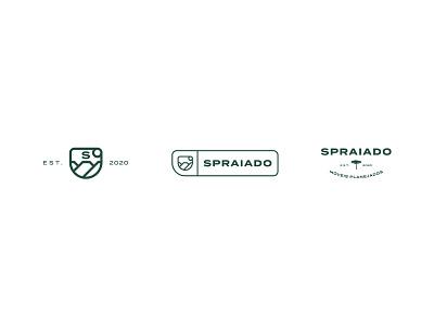 Spraiado — Brand Identity design marcenaria logo logo design graphic design coat of arms branding brand identity