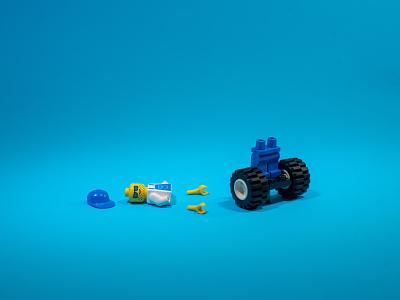 Lego World | Studio Photo lego photography studio photo design art graphic design
