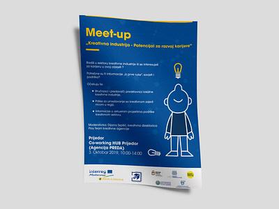 Meet-up | Conference Branding brand design visual art branding poster design poster graphic design