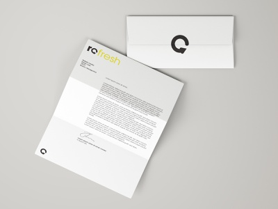 Refresh Media | Branding minimal logodesign visual art brand design art logo graphic design branding