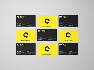 Refresh Media | Branding bussines card logo design design visual art logodesign brand design art logo graphic design branding