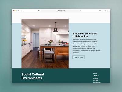 Architect Website Module uxui ui ux webflow kale webdesign module