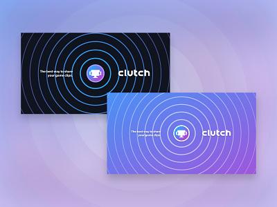 Clutch.Win Branding redesign mark logo design typography ui branding