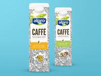 Alpro Packaging Illustration