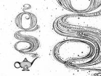 Genie Lettering