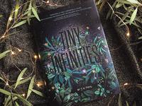 Tiny Infinities Book Jacket Design