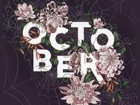 October Procreate Template