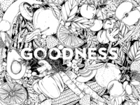 Goodness Coloring Sheet