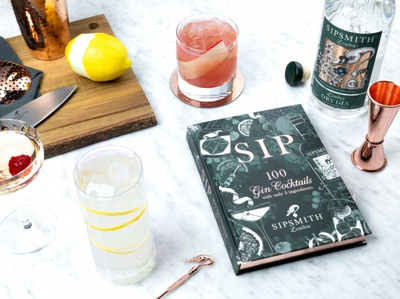Book Cover Illustration: SIP by Sipsmith
