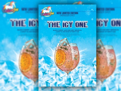 Icy Poster Design icy poster christmas poster design flyer design flyers poster design posters poster