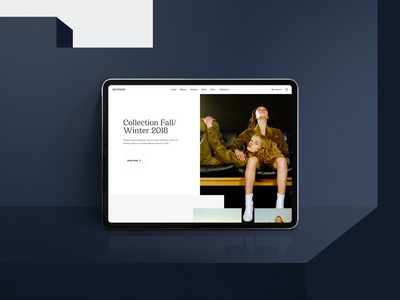 Free / Gryphon Fashion Store – Sketch Template – Hero Shot website web ux ui interaction ecommerce shop store fashion collection free freebie download template theme jacket blazer woman luxury beauty
