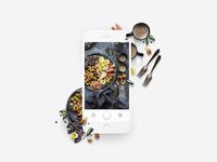 Slick App - Taking a Photo