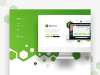 Qbserve - Landing Page - Behance Project