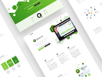 Qbserve - Full Landing Page