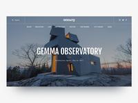 Gessato Blog Redesign - Hero Home Page