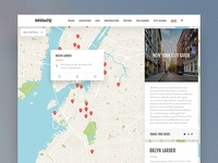 Gessato Magazine Redesign - City Guide