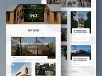 Gessato Magazine Redesign - Category Page