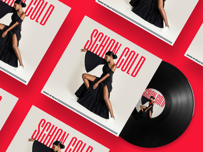 Schon Cold - Dance of Relax Single Cover soundcloud spotify vinyl jazz typography photography disc music cover album