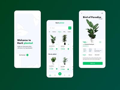 Plant store - App design graphic design design ux ui app