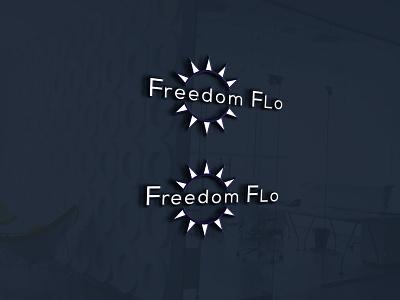 fredop flo icon flat minimal illustration logo design