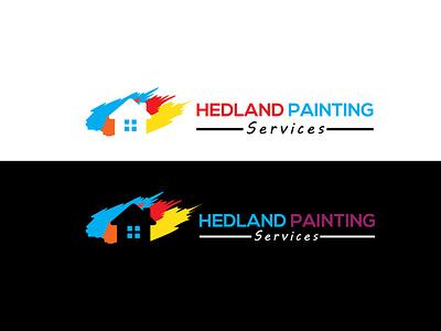 HEADLINE PAINTING illustrator graphic design art logo icon vector flat minimal illustration design