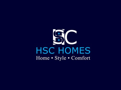 Construction HSC LOGO art illustrator graphic design logo icon vector flat minimal illustration design